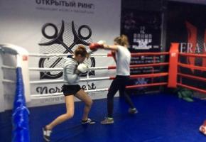 ZHenskaya trenirovka po boksu