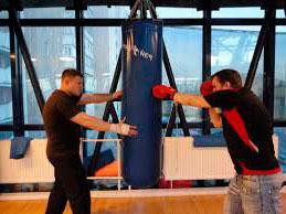 зал для занятий боксом