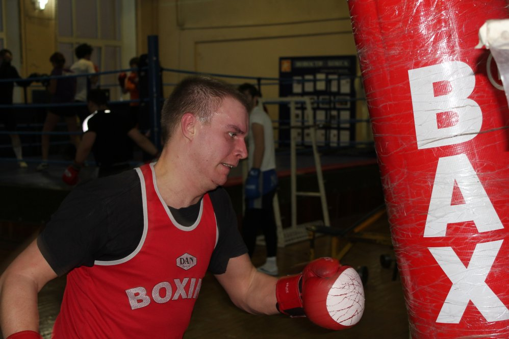 занятия боксом спб